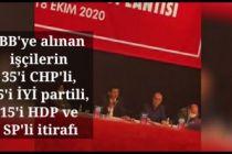 İBB'ye alınan işçilerin 35'i CHP'li, 15'i İYİ partili, 15'i HDP ve SP itirafı