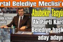 Abubekir Taşyürek Ak Parti Kartal Belediye başkan aday adayı