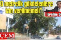 İbrahim Doğan 'Kartal sahilinde 90 metrelik gökdelenlere izin verilmemeli'