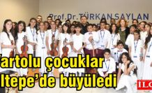 Varto'lu Müzisyen çocuklar Maltepe'de dinleyenleri büyüledi!