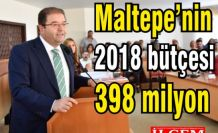Maltepe'ye 398 milyon  bütçe!