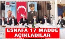 Kartal CHP'den Esnafa 17 maddelik destek paketi açıklama toplantısı