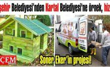 Ataşehir Belediyesi'nden Kartal Belediyesi'ne örnek, hayvansever hizmeti