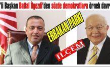 Erbakan ismini parka veren CHP'li Battal İlgezdi, Ataşehirliler'in takdirini kazandı.