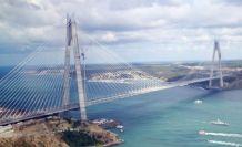 Yavuz Sultan Selim Köprüsü görkemli bir şekilde açıldı.