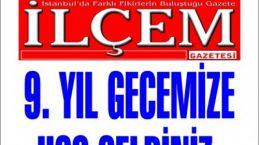 İlçem Gazetesi 9. yıl gecesi