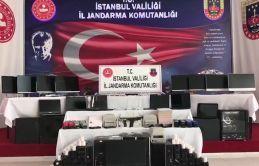 İstanbul'da Bahis Çetesi çökertildi.