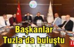 Yazıcı, Anadolu yakası belediye başkanlarını ağırladı.