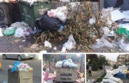 Yine CHP'li Belediye, yine çöp dağları dedirtti...