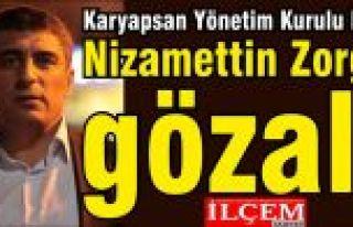 Karyapsan Yönetim Kurulu Başkanı Nizamettin Zorgül'e...