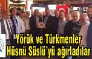 İstanbul Yörük ve Türkmenler Hüsnü Süslü'yü...