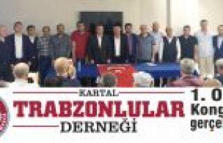 Kartal Trabzonlular Derneği 1. Olağan Kongresini...