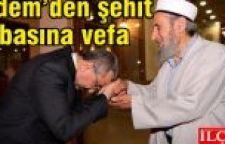 Erdem, Şehit Muhammed Safitürk'ün babası Asım...