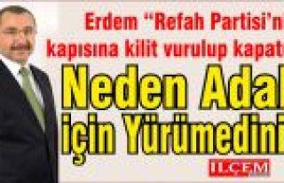 "İsmail Erdem ""Refah Partisi'nin kapısına kilit..."