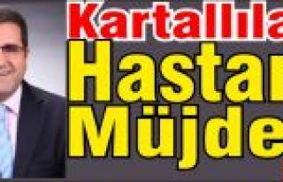 Aydın Yavuz, Kartallılara Hastane Müjdesi verdi.