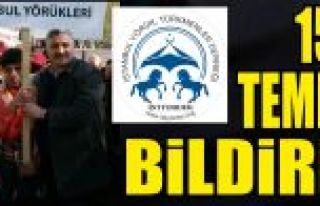 İstanbul YörükTürkmen Derneği'nden 15...