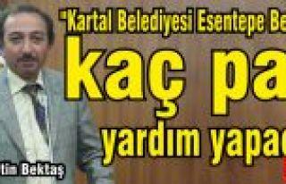 """Metin Bektaş, """"Esentepe Belediyesine kaç para..."""