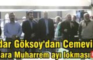 Haydar Göksoy'dan Cemevinde CAN'lara Muharrem...