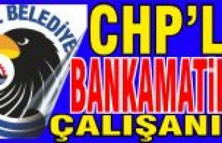 Kartal Belediyesi'nde CHP'li Bankamatik...