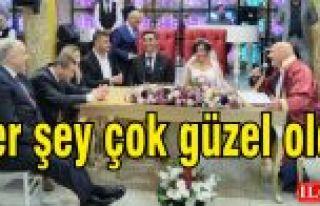 Nurali Çiftçi-Özden Dinçer'in düğünü çok...