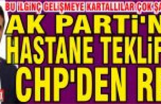 Ak Parti'nin Hastane teklifini CHP'liler...
