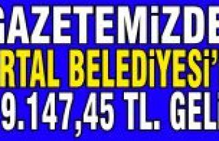 İlçem Gazetesi Kartal Belediyesi'ne, 419.147.45...