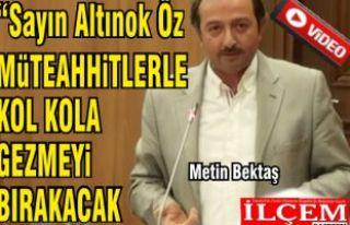 "Metin Bektaş ""8 yılda Kartal'da 8 kolon..."