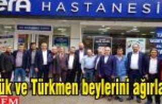 Vera Hastanesi Yörük ve Türkmen beylerini ağırladı.