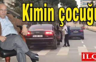 CHP'li Başkanın makam aracı servis aracı mı...