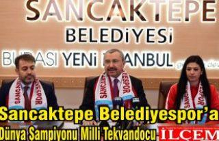 Sancaktepe Belediyespor'a Dünya Şampiyonu Milli...