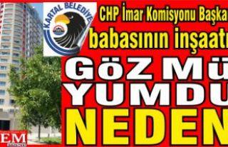 Kartal Belediyesi, CHP İmar Komisyonu Başkanının...