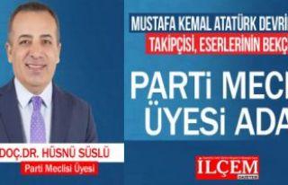 """Doç. Dr. Hüsnü Süslü """"CHP Parti Meclisi..."""