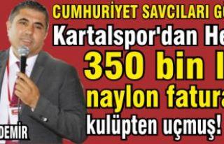 Kartalspor'dan her yıl 350 bin lira, naylon...