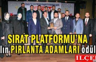 Sırat Platformuna yılın en başarılı Pırlanta...