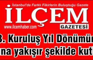 Sizin Gazeteniz İlçem Gazetesi 13 yaşını şanına...