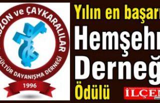 Trabzon ve Çaykaralılar Derneği'ne yılın...