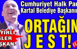 CHP'li Kartal Belediye Başkanından, ortağına...