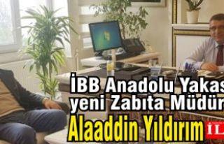 İBB Anadolu Yakası Zabıta Müdürü Alaaddin Yıldırım'a...