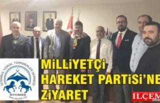 İstanbul Yörük Türkmen Derneği'nden MHP'ne...