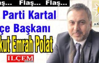 Ak Parti Kartal İlçe Başkanı adayı Aykut Emrah...