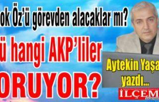 Altınok Öz'ü görevden alacaklar mı? Hangi AKP'liler...