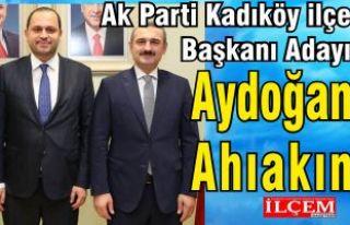 Aydoğan Ahıakın Ak Parti Kadıköy İlçe Başkanı...