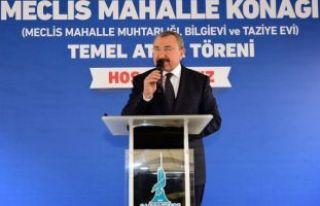 Erdem Sancaktepe'ye Yeni Muhtarlık Binası,...
