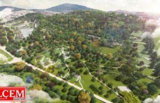 Pendik Millet Bahçesi'nin Yüzde 30`u tamamlandı