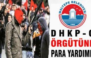 Maltepe Belediyesi'nden DHKP-C örgütüne para...