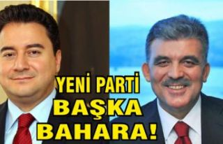 Gül ve Babacan'ın yeni partisi ile ilgili flaş...