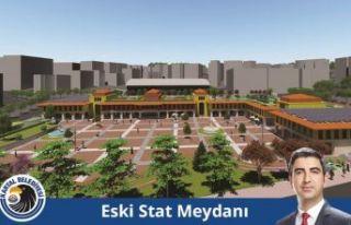 Kartal İlçe Stadı'nın yerine meydan ve park...