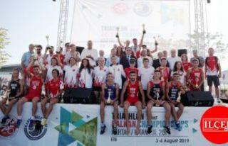 Triatlon Balkan Şampiyonası, Kartal'da büyük...