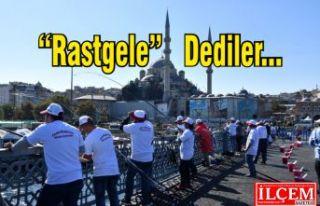"""Fatih Belediyesi Balık Festivali'nde """"Rastgele""""..."""