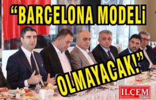 Kartal'a Barcelona modeli olmayacak!